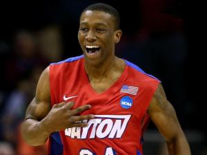 Jordan Sibert, his senior year with Dayton Flyers basketball.