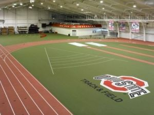 Ohio State Indoor Track, sight of high school state competition.