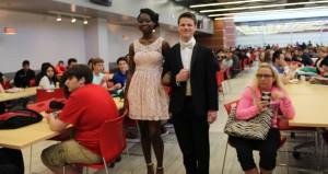 PHS prom fashion show.